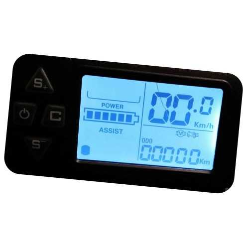 lcd for electric bicycle reconditioned