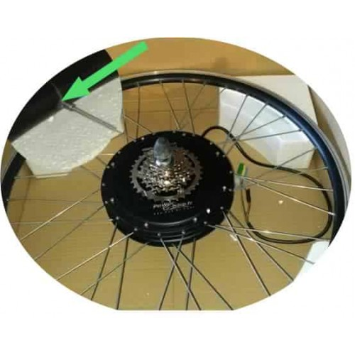RH205c electric bicycle rim reconditioned engine