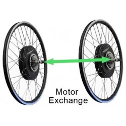 Exchange standard motor for electric bicycle RH205S