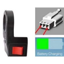 velo Schalter elektrische Batterie Regenerationseffekt