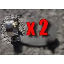 Collier de serrage inox torque arm (la paire)
