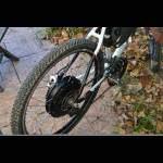 roue arrière vélo électrique